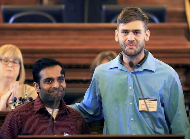 Indian-Americans to honour Kansas shooting survivor Ian Grillot