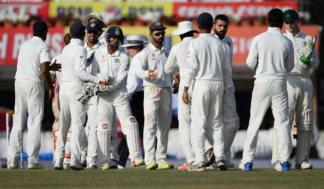 India denied by Aussie grit, third Test ends in draw