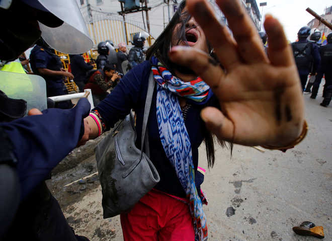 Nepal Police baton charge pro-Hindu party workers, dozens hurt