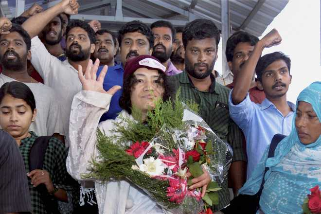 Manipuris hypnotised by muscle power of politics: Sharmila