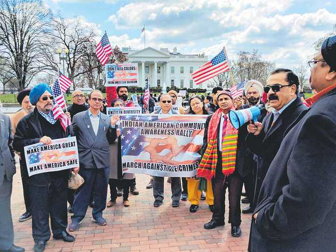 Indian-Americans protest hate crimes