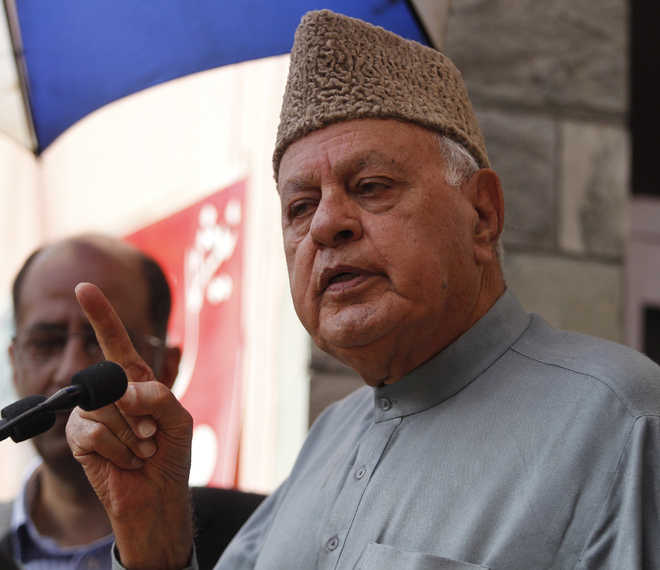 Bypoll: Farooq raises religious 