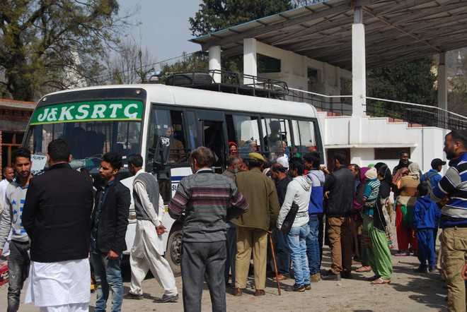 Weekly Poonch-Rawalkote bus service begins again