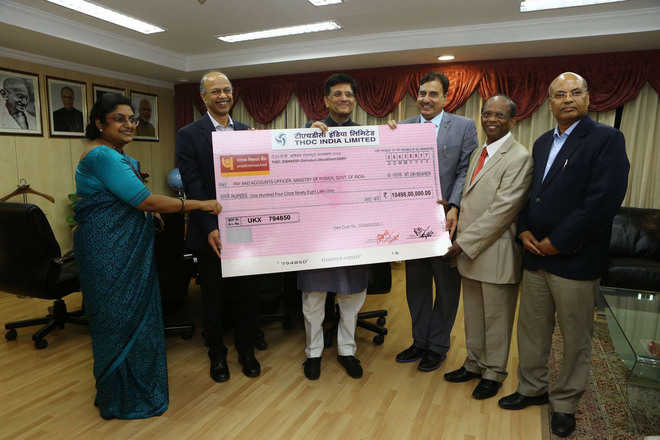 THDCIL pays Rs 105 crore to Centre