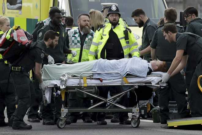 Islamic State claims responsibility for British parliament attack