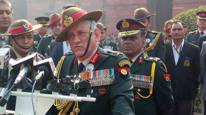 Forces should be ready for conventional warfare along borders: Army Chief Rawat