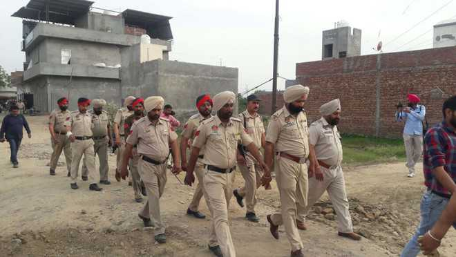 Police swoop down on Anngarh area