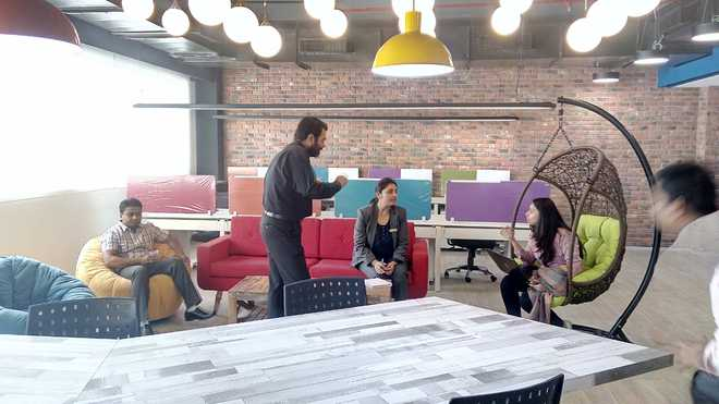 Co-working space launched at VBC