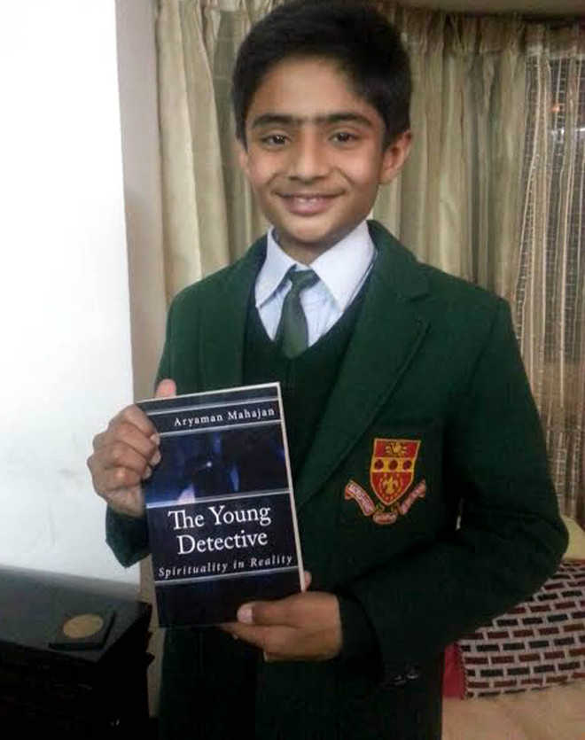12-year-old boy from Dharamsala pens book