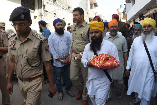 Torn pages of Gutka Sahib found in Anandpuri area