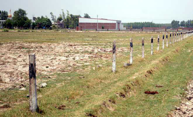 Construction of link road to IIM campus stalled