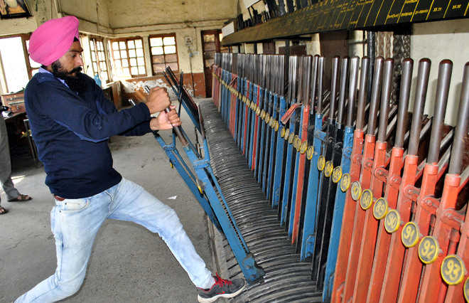 Rlys to replace obsolete lever-frame system