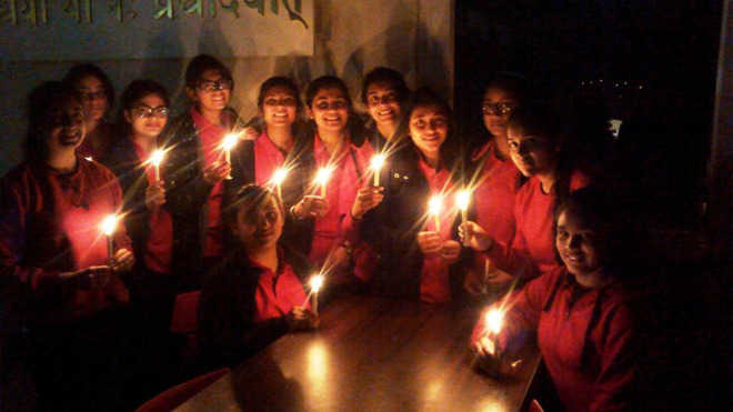 Mussoorie school celebrates Earth Hour