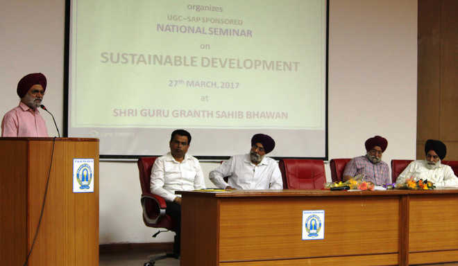 Concepts of sustainable development discussed