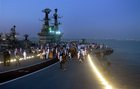 Indian aircraft carrier INS Viraat docked after it was decommissioned in Mumbai on March 6, 2017. PTI photo