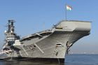 Indian aircraft carrier INS Viraat is docked on its final day as it is decommissioned in Mumbai on March 6, 2017. AFP photo