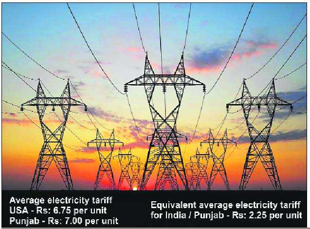 New Electricity Tariff Chandigarh
