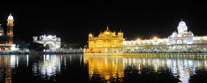 Rs 13-cr LEDs light up Golden Temple