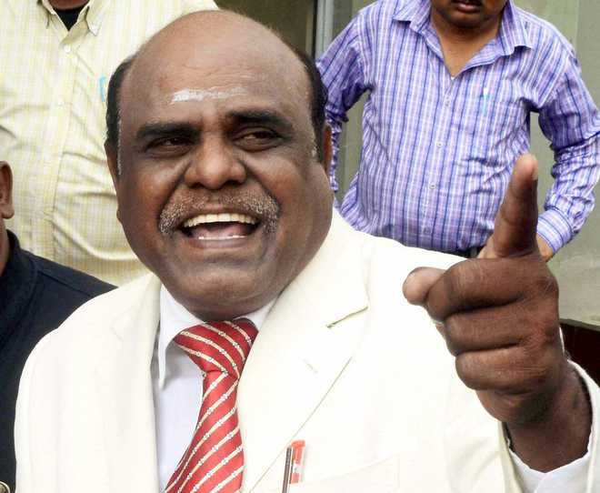 Now, Justice Karnan asks CJI, 6 judges to appear before him