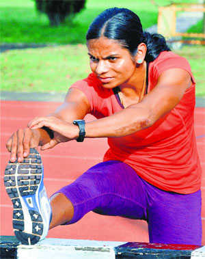 Dutee won't run 200m races in int'l events