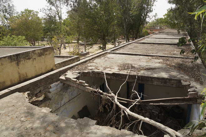 Dilapidated school buildings constant threat to students' lives