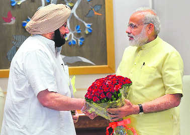 Capt seeks Modi's support to sell power to Pakistan