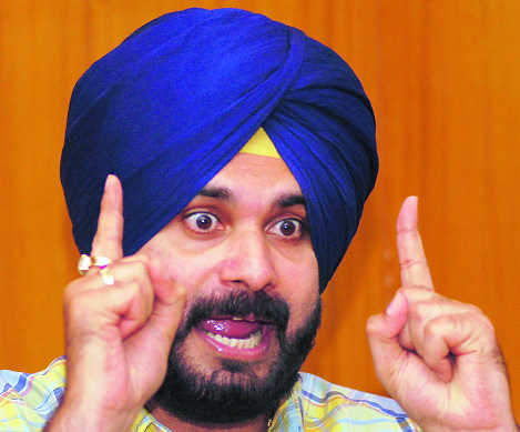 No tolerance for corrupt officers, asserts Sidhu