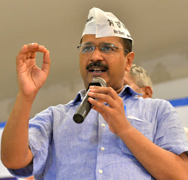 BJP trying to hide corruption in MCD by projecting PM: Kejriwal