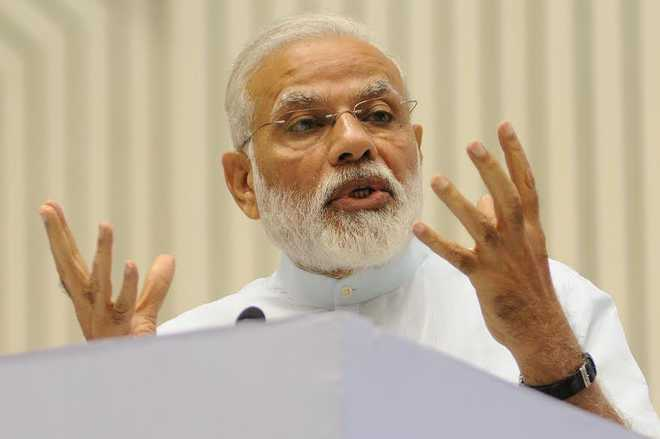 Do not lack political will to carry out reforms: Modi
