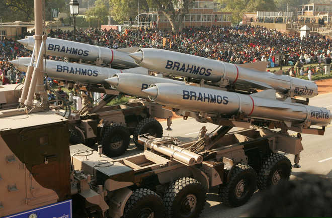 Navy successfully test-fires Brahmos supersonic missile