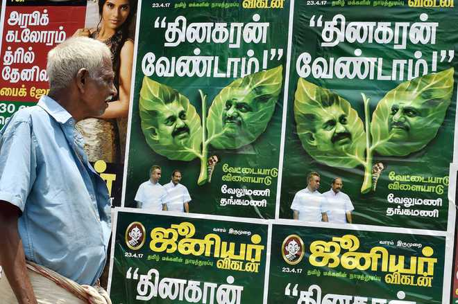 EC extends freeze on AIADMK poll symbol