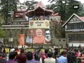 PM Modi's grand roadshow in Shimla