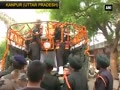 Watch: Kanpur bids adieu to slain Captain Ayush Yadav