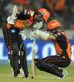 Yes he Kane! Kiwi leads SRH to another home win