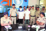Two chain snatchers held