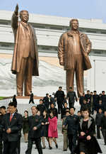 N Korea stages artillery drill as US submarine docks in South