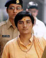 Malegaon: Bail for Pragya, not Purohit
