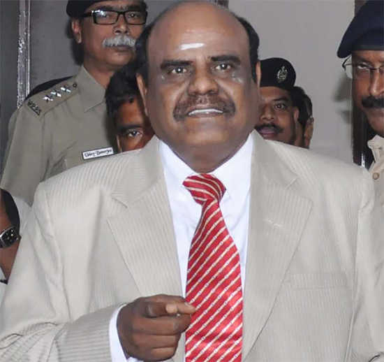 Justice Karnan moves SC, seeks recall of order sentencing him in contempt case