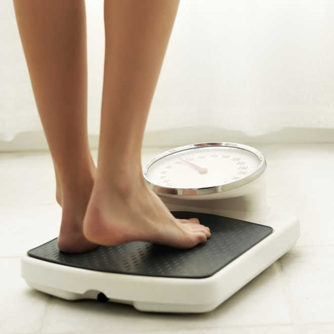 Bathroom scales can warn about life threatening conditions