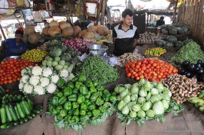 Prices of veggies fall with increase in supply