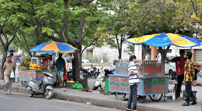 Street vending project yet to take off