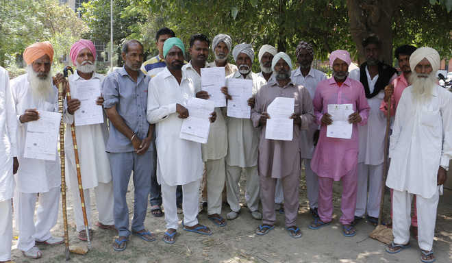 Villagers allege denial of water rights
