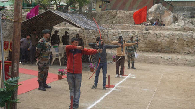 Army organises Tiger Hill archery competition