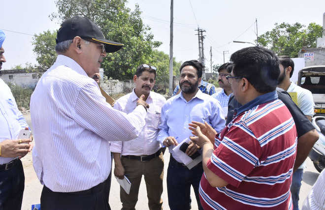 CVO inspects JIT projects, illegal buildings