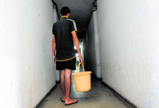 Water blues for hostel inmates