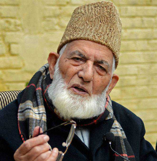 Terror funding: NIA in Srinagar to quiz separatist leader Geelani, 3 others