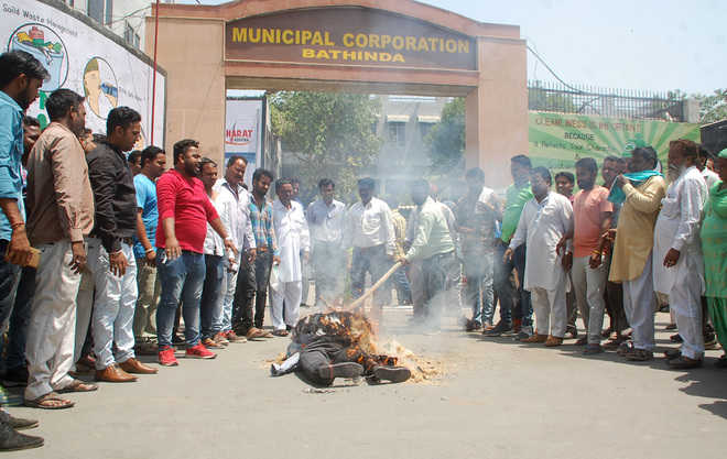 Sanitation workers object to selection committee