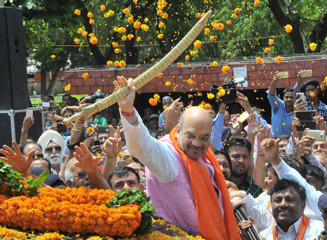 Shah rules out change in city BJP