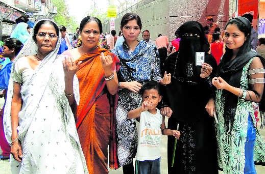 46.3% turnout in civic ward bypoll