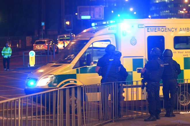 22 killed in blast at pop concert in Manchester